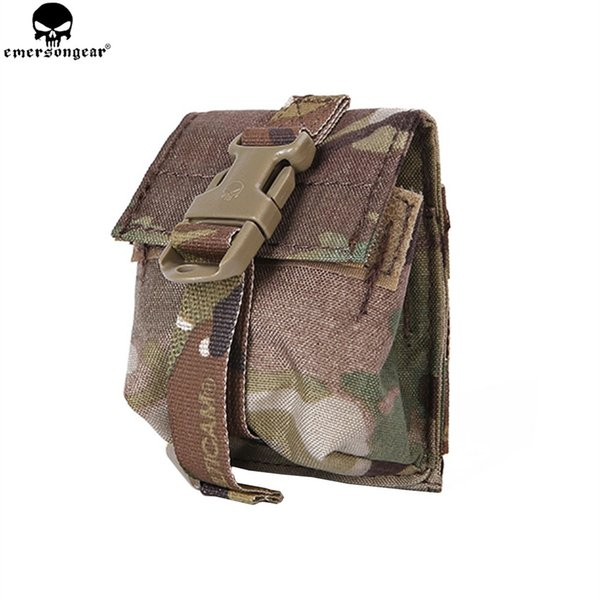 EMERSONGEAR LBT Style Single Frag Grenad Pouch Military Airsoft Paintball Combat Gear Molle Grenad Pouch EM6369 #159303
