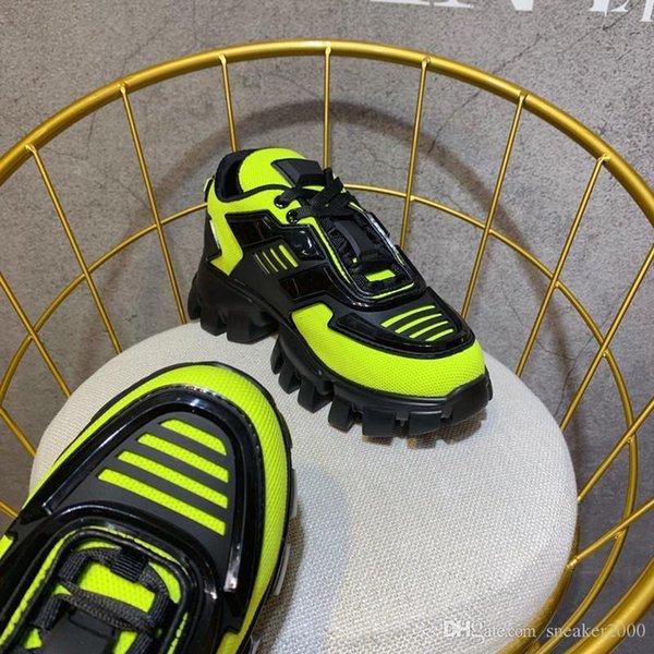 Мода Носок Обувь Speed Trainer Chaussures Роскошная Низ обуви белый серый платье De Luxe тапки Мужчины Женщины rx19080302