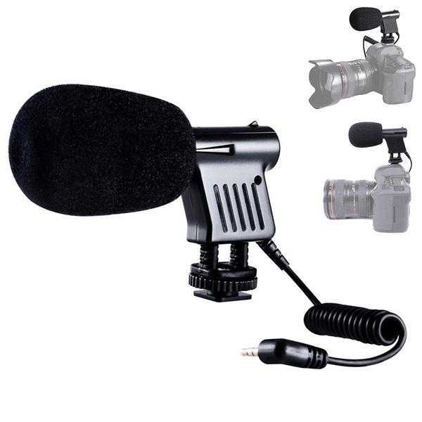 Mini Microphone Interview Broadcast Directional Condenser For DSLR Cameras Camcorder Recording SGA998