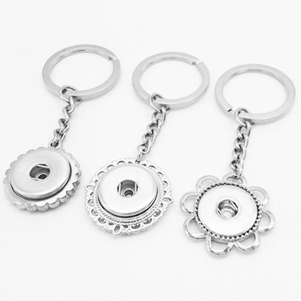 neue Druckknopf Schmuck Schlüsselanhänger Schlüsselanhänger Schlüsselanhänger (fit 18mm Druckknöpfe)