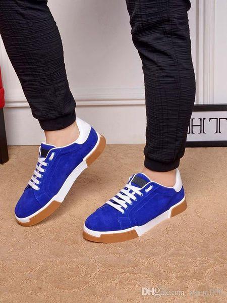 2019 Италия роскошный ботинок молния Мужчины Женщины низкая Верхняя плоская обувь натуральная кожа Мужская обувь дизайнер кроссовки бесплатная доставка ht190603