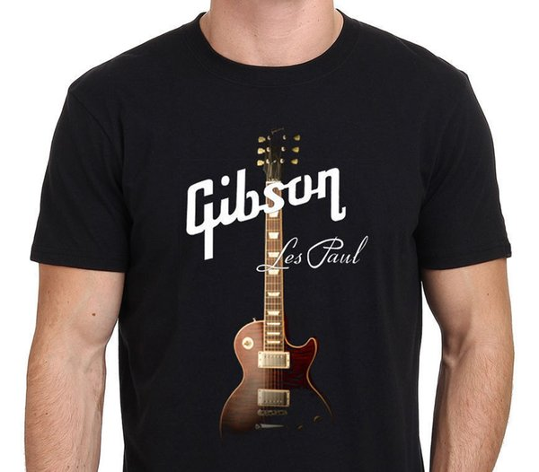 Gibson Guitars T Shirt Uomo Casual Regalo Tee Usa Taglia S-3xl Y19042603