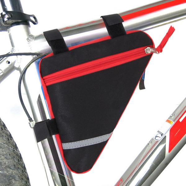 Треугольник сумка для велосипеда передняя трубка рамка сумка для велосипедов аксессуары горный велосипед держатель седло Bisiklet Aksesuar # 498676