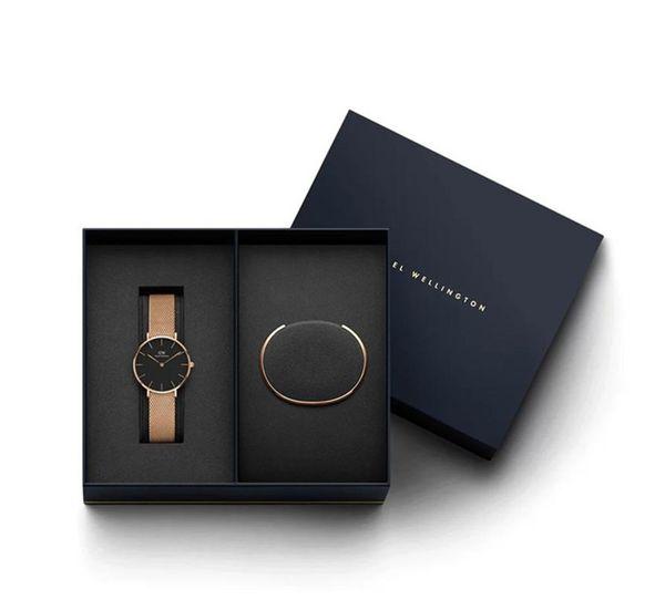 Orijinal kutu m c gG ile yeni yıl hediyeleri Lüks Kadınlar Kuvars İzle 32MM Milan Saatler ve Mücevher Bilezikler Moda Lady Şık k Noel