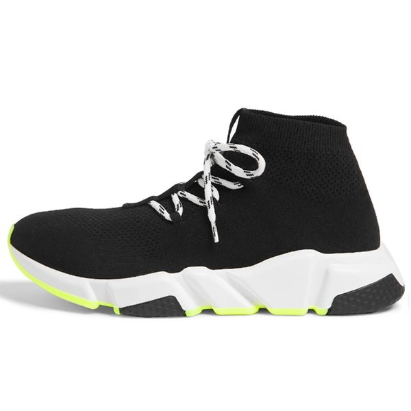 Item23 Lace Up Yellow Sole 36-45