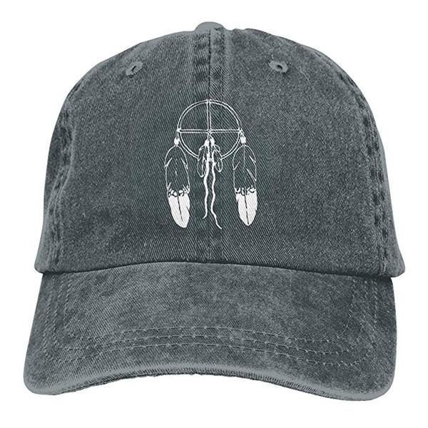 Color Dream Catcher Classic Adjustable Cotton Baseball Caps Trucker Driver Hat Outdoor Cap Black
