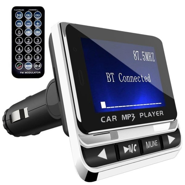 Bluetooth Car FM Transmitter Freisprechen MP3-Player USB-Telefon Schnellladegerät