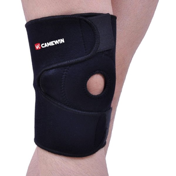 1 Piece Adjustable Knee Protector Elasticity Breathable Knee Pads Preventive Relieve Arthritis Injury Bandage Sports Guard #71093