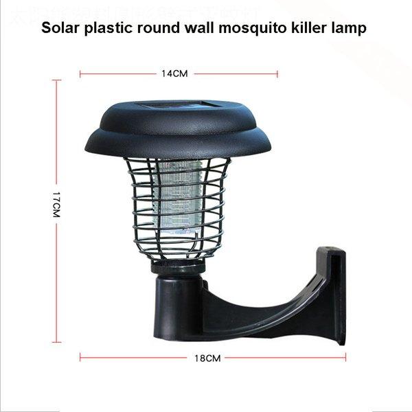 Plastic wall type mosquito killer