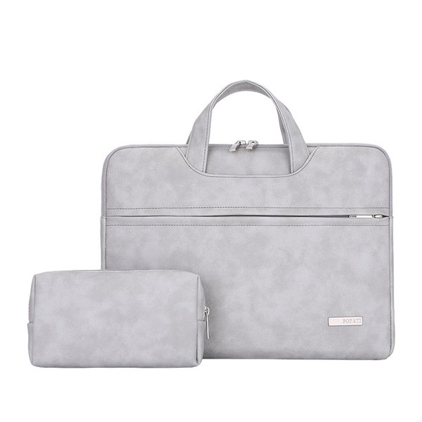 Borsa del computer portatile in pelle PU impermeabile per le donne 13.3 14 15 15.4 sacchetti del manicotto del computer portatile 15.6 pollici per le donne 2019 borsa bolso mujer