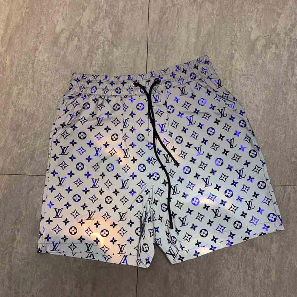 2019ss Designer-Stil wasserdichtes Gewebe Runway Hose Sommer Strand Hosen Mens Board Shorts Männer Surf Shorts Badehose Sport Shorts