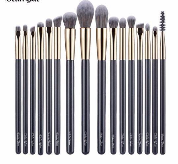 2019 Precise Makeup Brushes Set Detail Powder Foundation Blusher Bronzer Eyeliner Shadow Brow Lip Gloss Tool 4/15/16