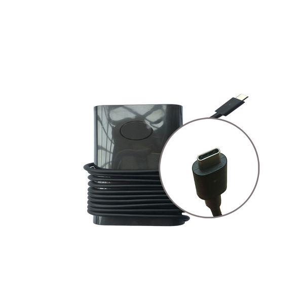 Chargeur pour ordinateur portable original 30W USB-C (Type C) Adaptateur secteur pour Dell XPS12 9250, XPS13 9365, Latitude 7275 5175 5179 7350 Lieu 8 5855