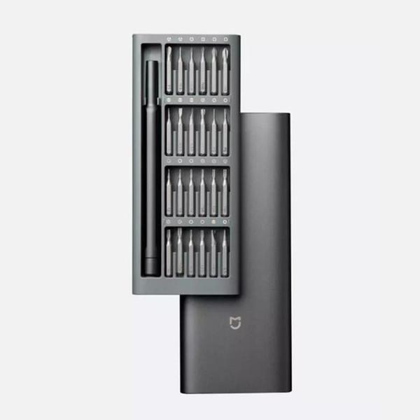 best selling Original new 100% Xiaomi Mijia Wiha Daily Use Kit 24 Precision Magnetic Bits Alluminum Box DIY Screw Driver Smart Home Set hot
