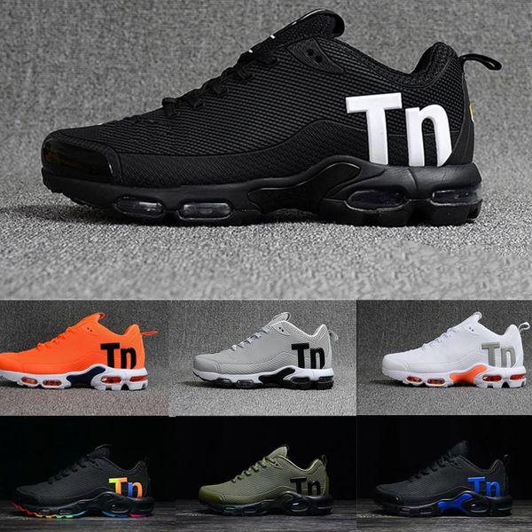 Nike air max tn plus airmax tns 2018 Neue Mercurial Plus Tn Ultra Nano Air Casual Laufsportschuhe Weiß Schwarz Grün Herren KPU Trainers Designer Sneakers Größe US 7-12
