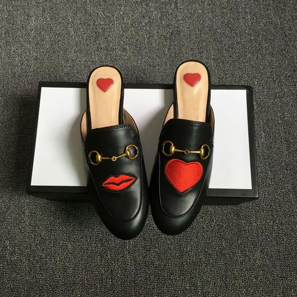 black red heart 1