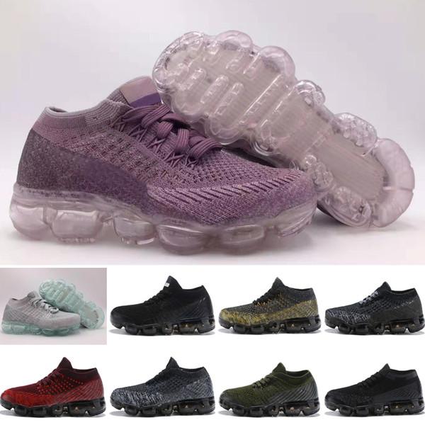 Nike Air VaporMax 2018 Yansıtıcı 270 tasarımcı ayakkabı Çocuklar 35V20 Basketbol Sneaker erkek kız ayakkabı Atletik Spor Rahat Ayakkabılar Bahar Koşu sneakers 24-35