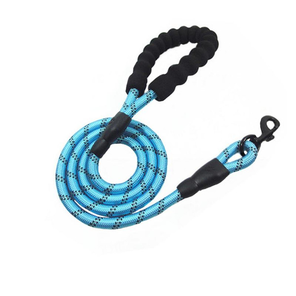 1.8M Nylon Leash Pet Supplies Nylon Braided Traction Rope Non-Stretch Pet Rope Training Reflective Leash Dog Supplies