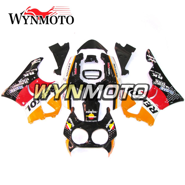 Carene complete in plastica ABS per Honda CBR900RR 893 1996 1997 CBR900 RR 96 97 cbr 900rr Carrozzeria Repsol Orange Black Red Carenes Nuovo