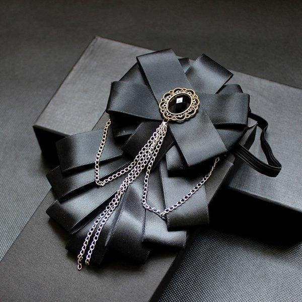 모조 다이아몬드 나비 넥타이