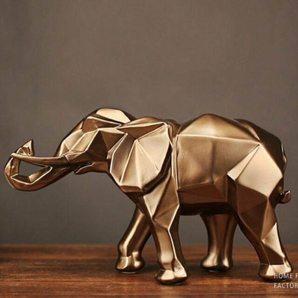 İskandinav yaratıcı fil heykel fil dekoratif sanat heykel ücretsiz gönderim