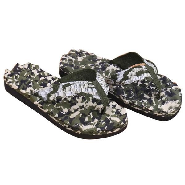 Homens verão camuflagem chinelos sapatos sandálias fathio chinelos mulheres interior ao ar livre flip-flops zapatillas hombre homens praia shoes
