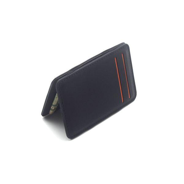 Magic Men ID Credit Card Holder Case money wallet fashion Solid String 10cm*7cm*0.8cm