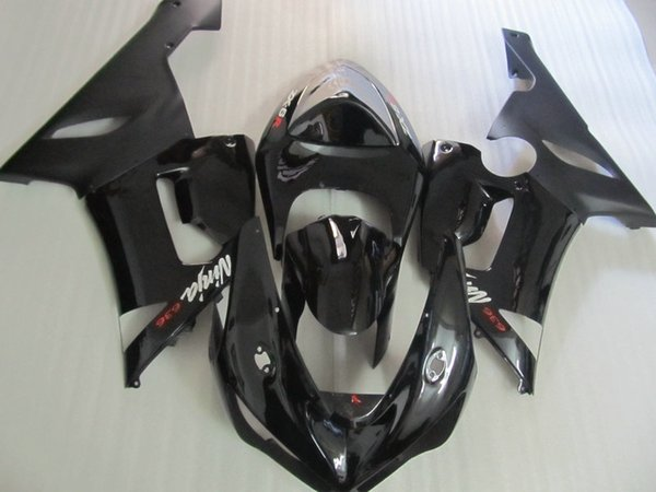 Black Fairing body kit for KAWASAKI Ninja ZX6R 05 06 ZX6R 2005 2006 Bodywork ZX 6R ZX-6R 636 Fairings set+7gifts