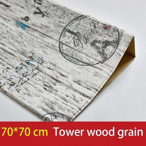 Grão de madeira da torre