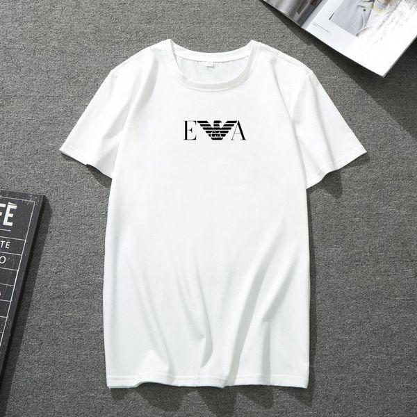 T-shirt a maniche corte in seta da uomo con stampa selvaggia di nuova tendenza di moda estiva traspirante