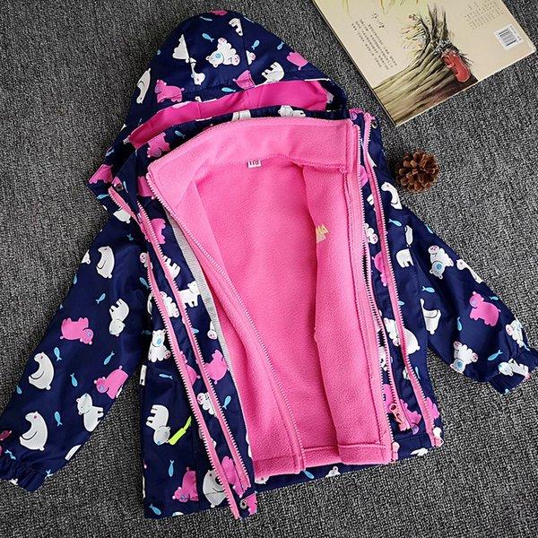 Dalary Baby Boys/&Girls Camouflage Polar Fleece Zipper Outerwear
