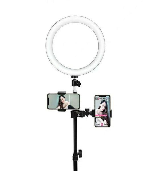 Luz en vivo Cara flexible Cara delgada Gran angular Teléfono móvil Soporte de red Red Hand ChatterBox Equipo de video para grabación Selfie HD Phot