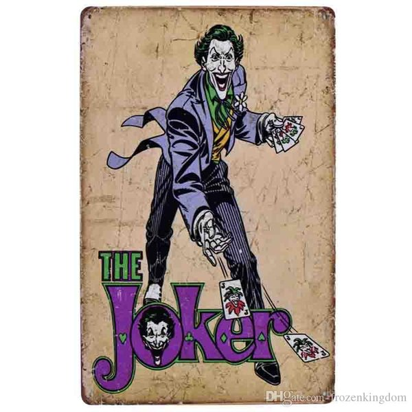 hot joker cube idea british 20*30cm blond beauty motorbicycle Tin Sign Coffee Shop Bar Restaurant Wall Art decoration Bar Metal Paintings