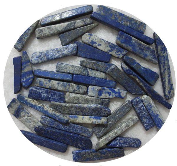 C11 20-100 mm Lapislázuli natural Cristal de cuarzo Chips de roca Mineral especímenes