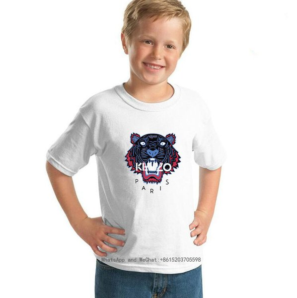 Kurzarm Hund T Nettes T-Shirt Neue Muster Kinderkleidung BINPAW Korean Edition Streifen Kinderkleidung 0317