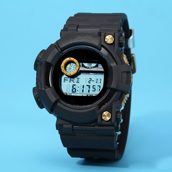GWF1000 GA Sports Digital Men's Watch Solar Full-featured work World Time Waterproof and Shockproof Free Shipping