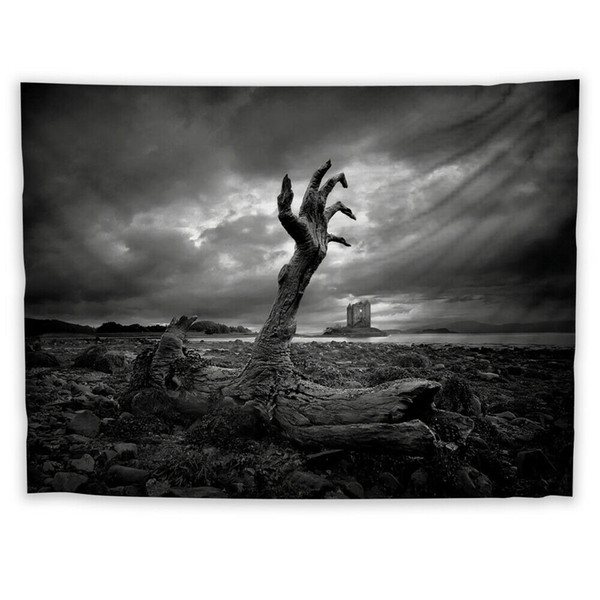 Hand Horror Wall Hanging Tapestry Psychedelic Bedroom Home Decoration