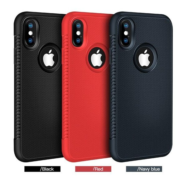 New for Iphone XR XS MAX X 6S 7 8 plus TPU soft rubber silicone cell mobile phone case slim cover for samsung S8 S9 S10 plus note 8 9 luxury