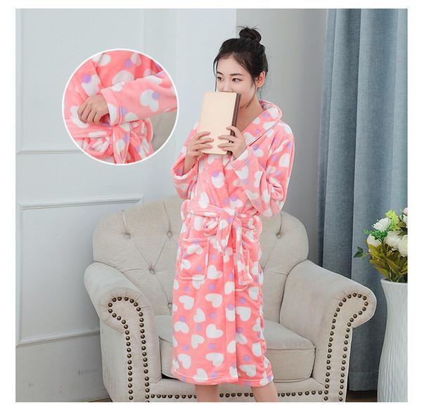 YF585 новый корейский хлопок пижамы осенью и зимой с длинными рукавами хлопок свободный износ дома костюм