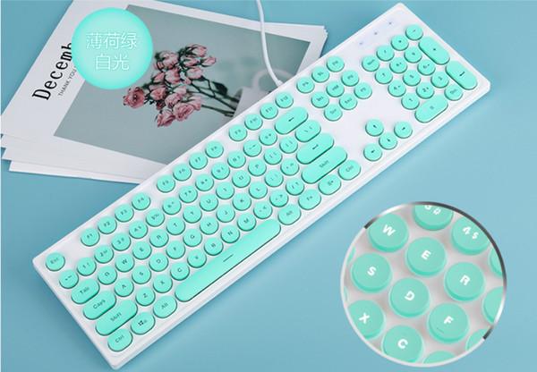 klavye (mavi + kablolu)