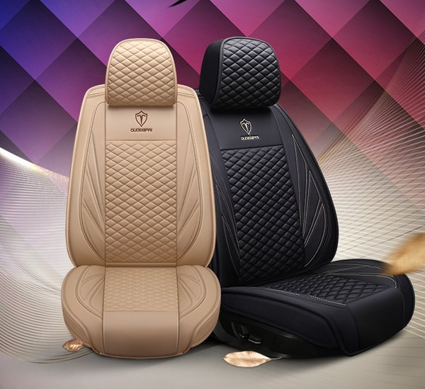 Magnificent New Fashion Business Pu Leather Car Seat Covers Custom Full Coverage Five Five Colors General Model Cheap Baby Car Seat Covers Cheap Car Cover Seats Andrewgaddart Wooden Chair Designs For Living Room Andrewgaddartcom