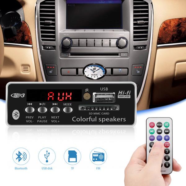 Auto-Decoder-Karte mit Fernbedienung FM-Radio USB Bluetooth-Freisprecheinrichtung MP3-Player Integriertes Decoder-Kartenmodul