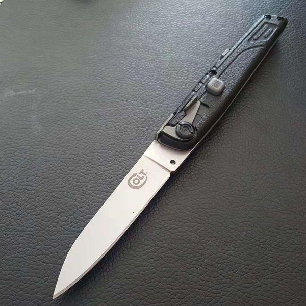 Кольт II тактический складной нож одиночного действия тактический самообороны складной нож edc походный нож охотничьи ножи рождественский подарок