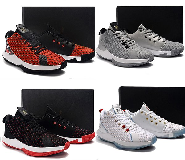 top popular HOT Paul 12 Basketball Shoes for Mens Black luxury Athletic Sneakers Outdoor Sports High quality Jumpman CP3 Shoes Trainers size 40-46 2019