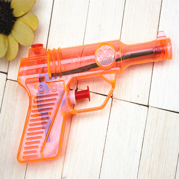 Children's Toy Water Gun Playing Toy Water Spray Toy Transparent Water Gun