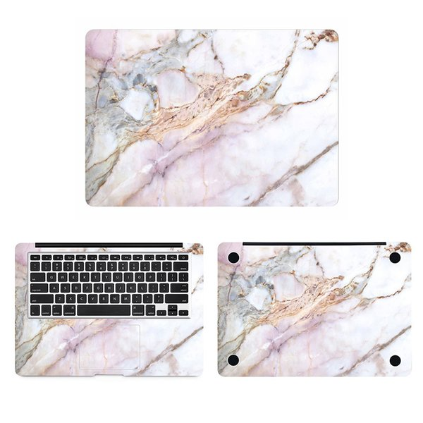 New Marble Full Body Cover Skin For Macbook Sticker Pro Air Retina 11 12 13 15 Inch 17 Hp Acer Mac Mi Surface Book Laptop Decal T6190615