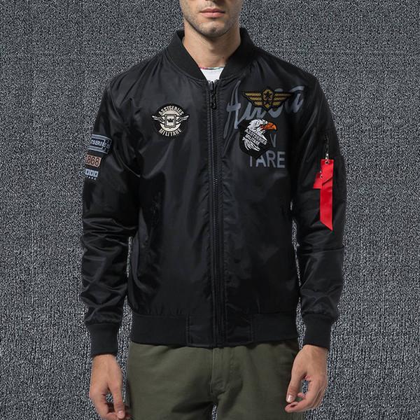 NASA Aviator Herrenbekleidung Designerjacke Bomberjacke Trenchcoat bestickte Baseballuniform Herren m-xxxl