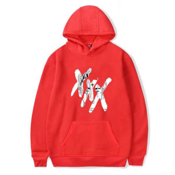 Mens Designer Hoodies XXXTentacion Hombres Mujeres R.I.P Rapper Hoodies Fans American Hot Fleece Sudaderas