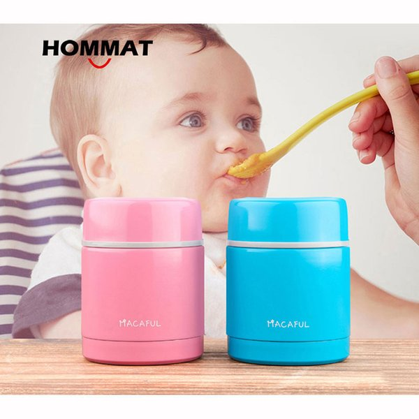 Stainless Steel Japanese Thermos Lunch Box For Kids Insulated Food Container Food Jar Lunchbox Soup Mug With Lunch Bag Y19070303
