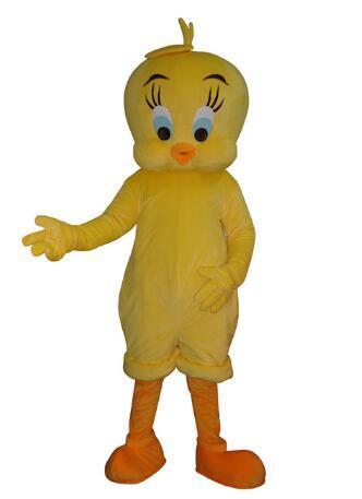 Vestito operato dall'uccello del fumetto del costume della mascotte del fumetto della mascotte di Loe Tune di alta qualità 2019 Trasporto libero adulto